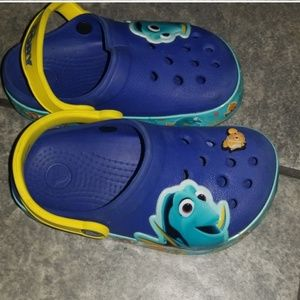 Finding Dory Light up Crocs size 9
